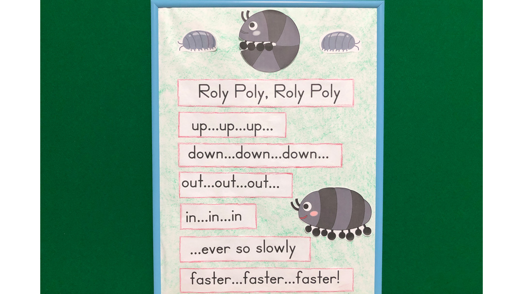 Roly Poly Mom and Baby Lap Rhyme for English Class