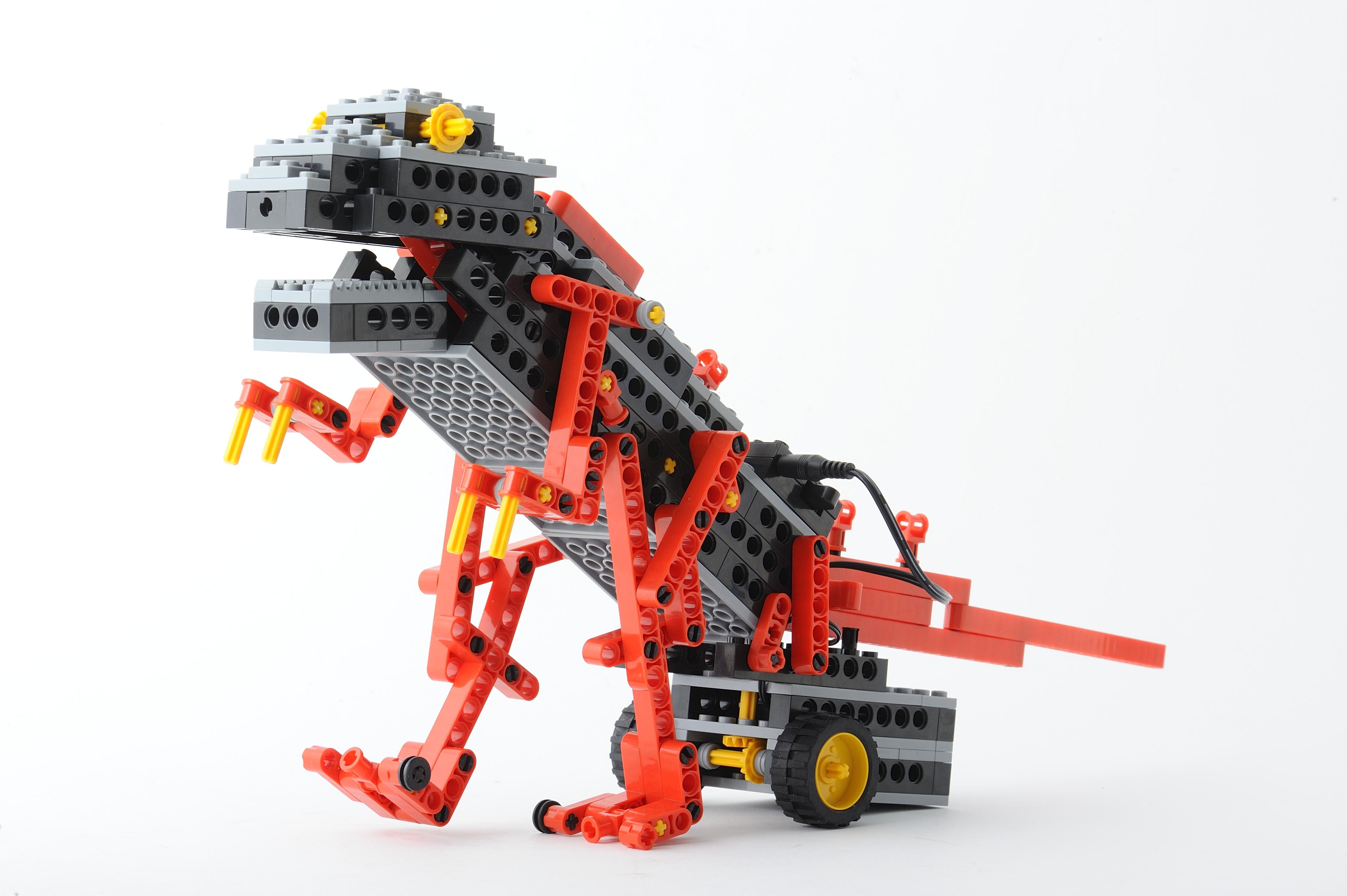 Human Academy Robot School Dinosaur